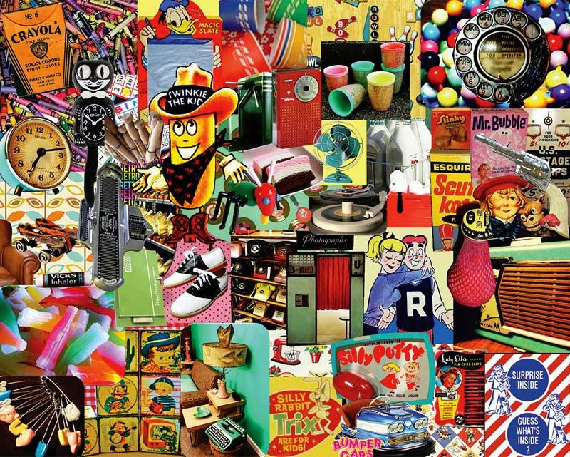 Retro Retro Retro Jigsaw Puzzle Puzzlewarehouse Com