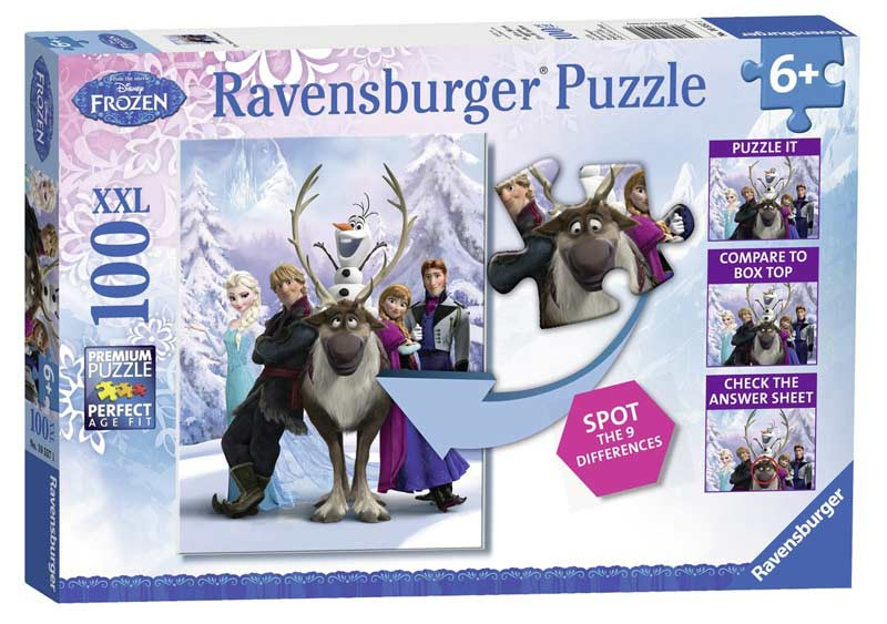 The Frozen Difference Movies / Books / TV Jigsaw Puzzle