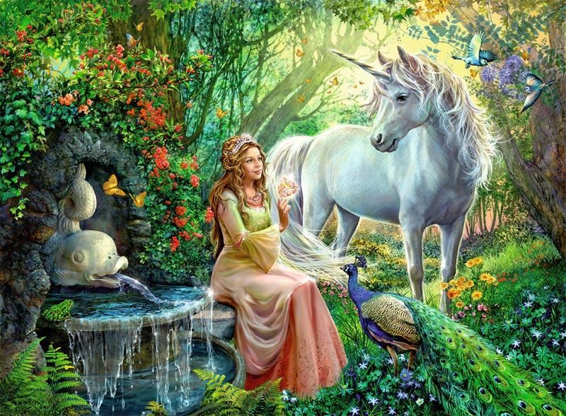 Unicorns And Fairies Real Princess and Un...