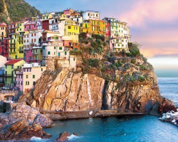 Cliff Hangers Italy Jigsaw Puzzle