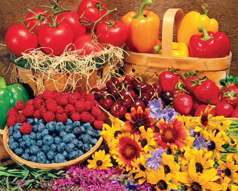 Garden Goodies Garden Jigsaw Puzzle
