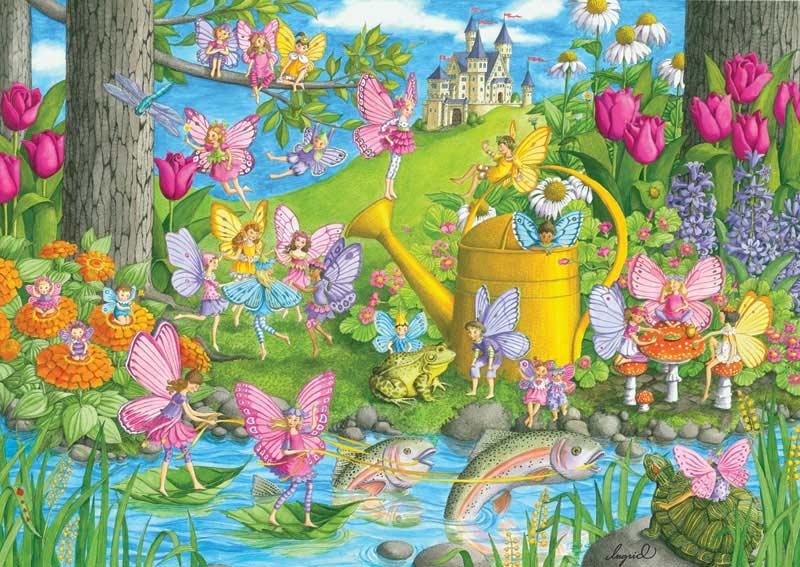 Fairy Playland Castles Jigsaw Puzzle