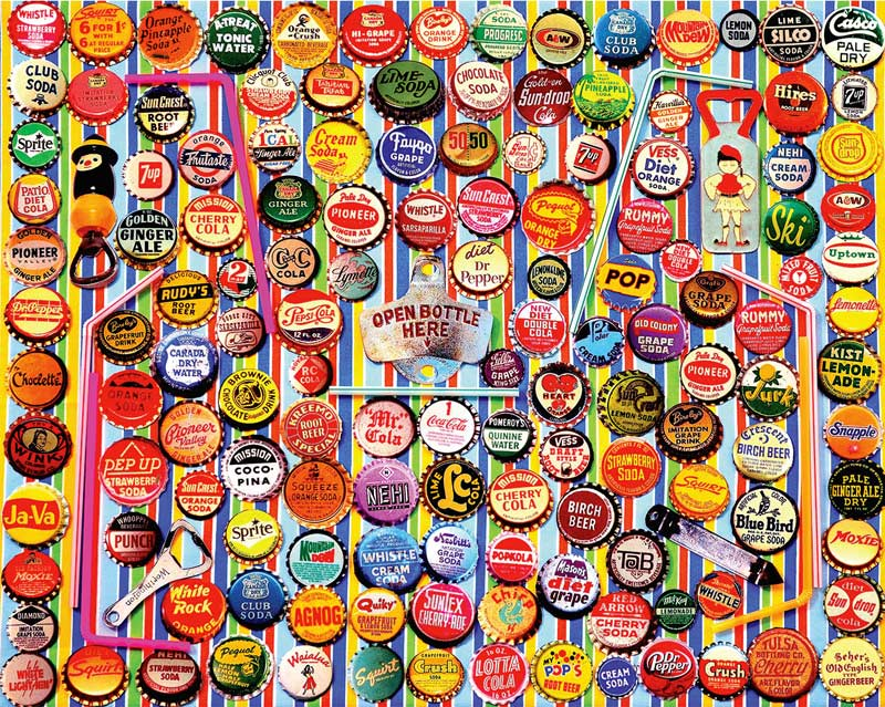 Image result for bottle cap jigsaw puzzle