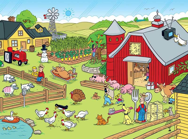 Highlights - On the Farm Farm Hidden Images