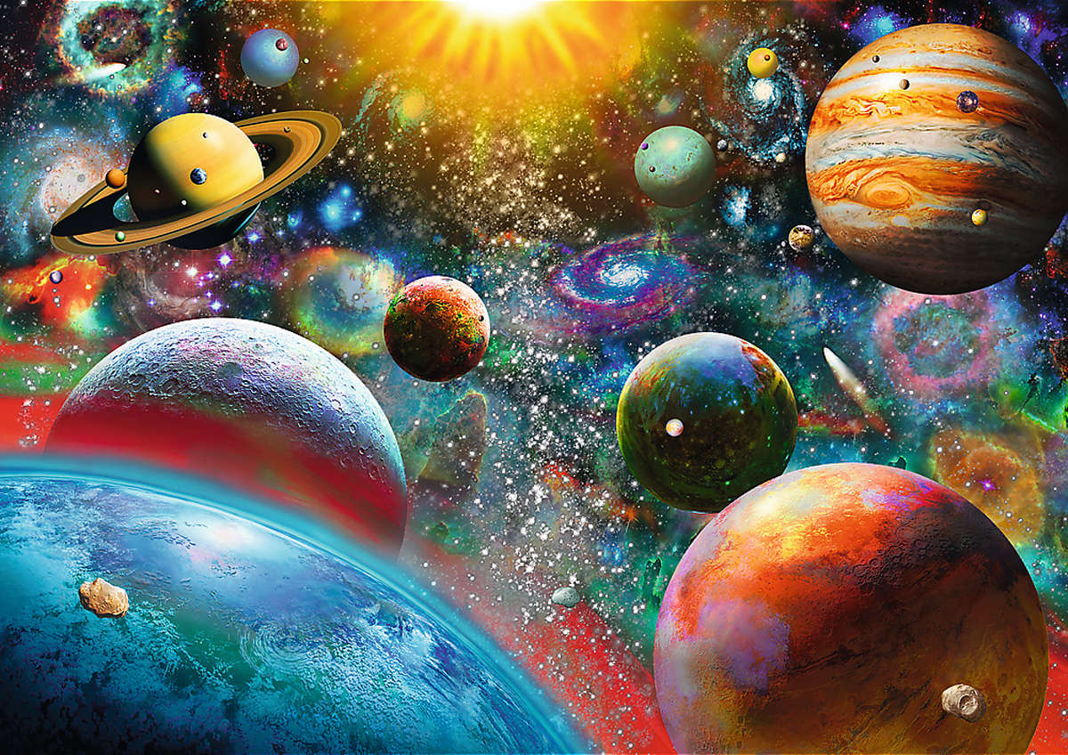 Cosmos Space Jigsaw Puzzle