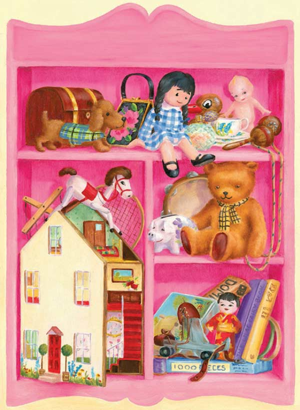 Girl's Play Jigsaw Puzzle