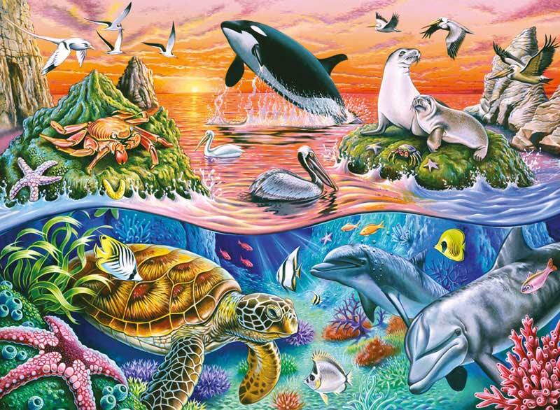 Beautiful Ocean Under The Sea Jigsaw Puzzle