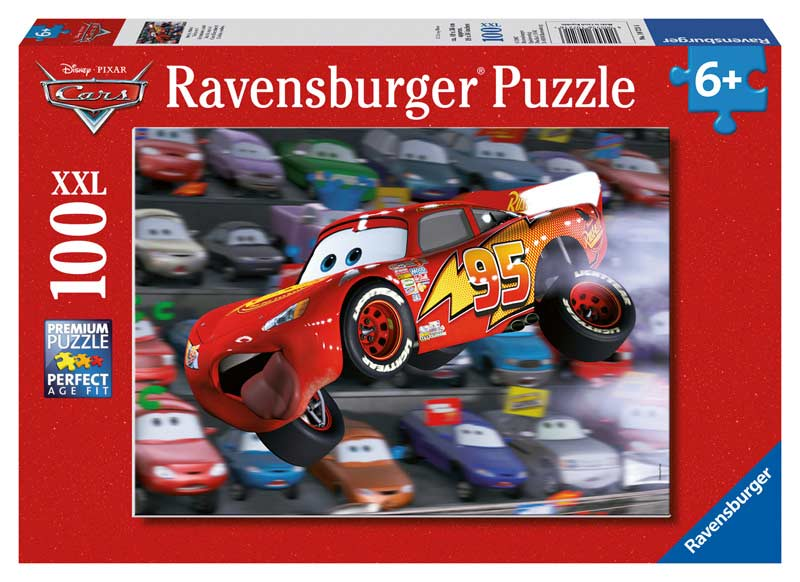 Cars Everywhere! - Scratch and Dent Disney Jigsaw Puzzle