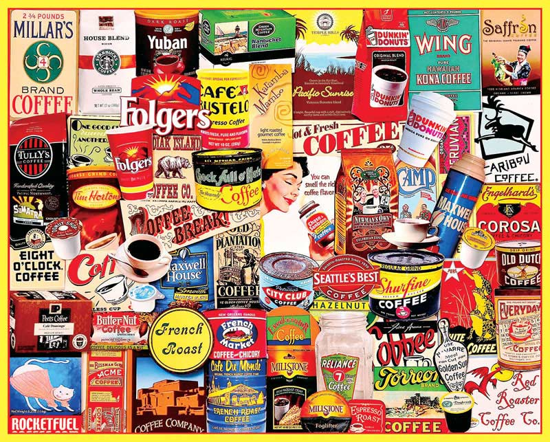 Coffee Food and Drink Jigsaw Puzzle