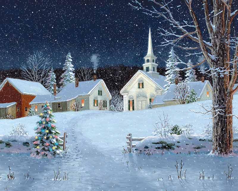 Christmas Lights Jigsaw Puzzle Puzzlewarehouse Com