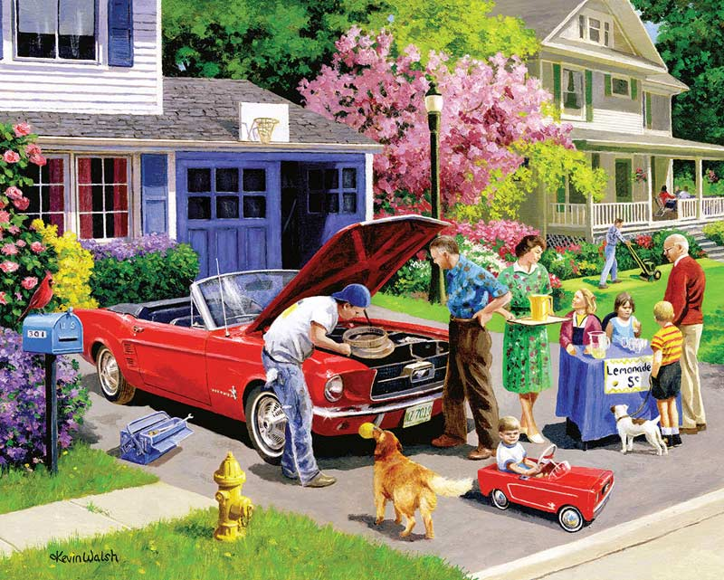 Ready For A Drive Cars Jigsaw Puzzle