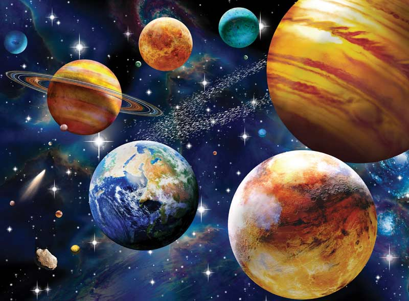 Space Space Jigsaw Puzzle