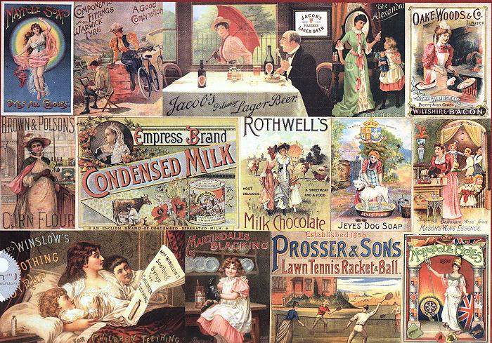 Nostalgic Brands Graphics Jigsaw Puzzle