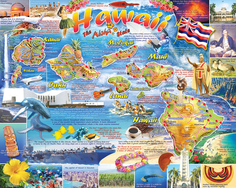 Hawaii - Scratch and Dent Travel Jigsaw Puzzle