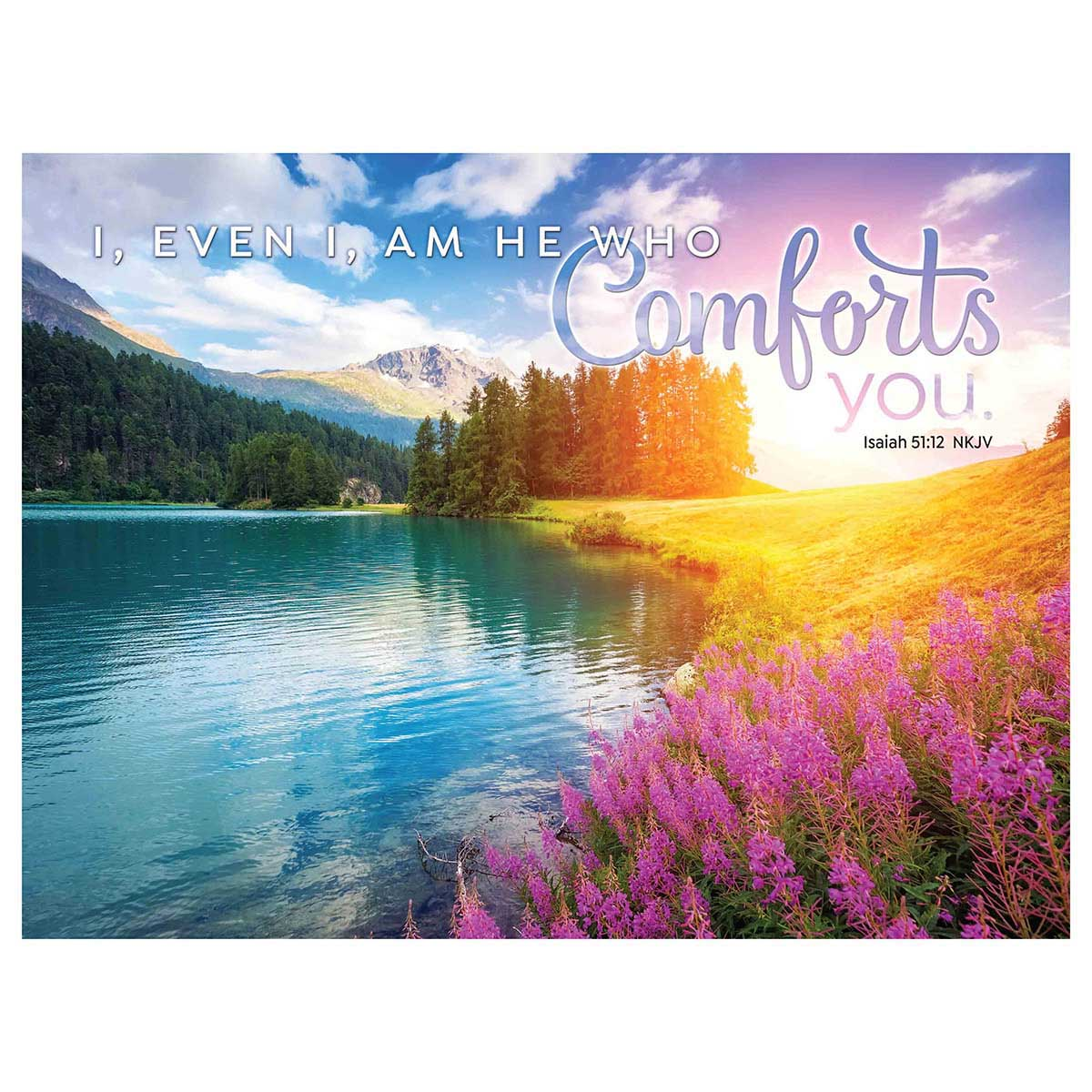 God's Comfort - Scratch and Dent Religious Jigsaw Puzzle