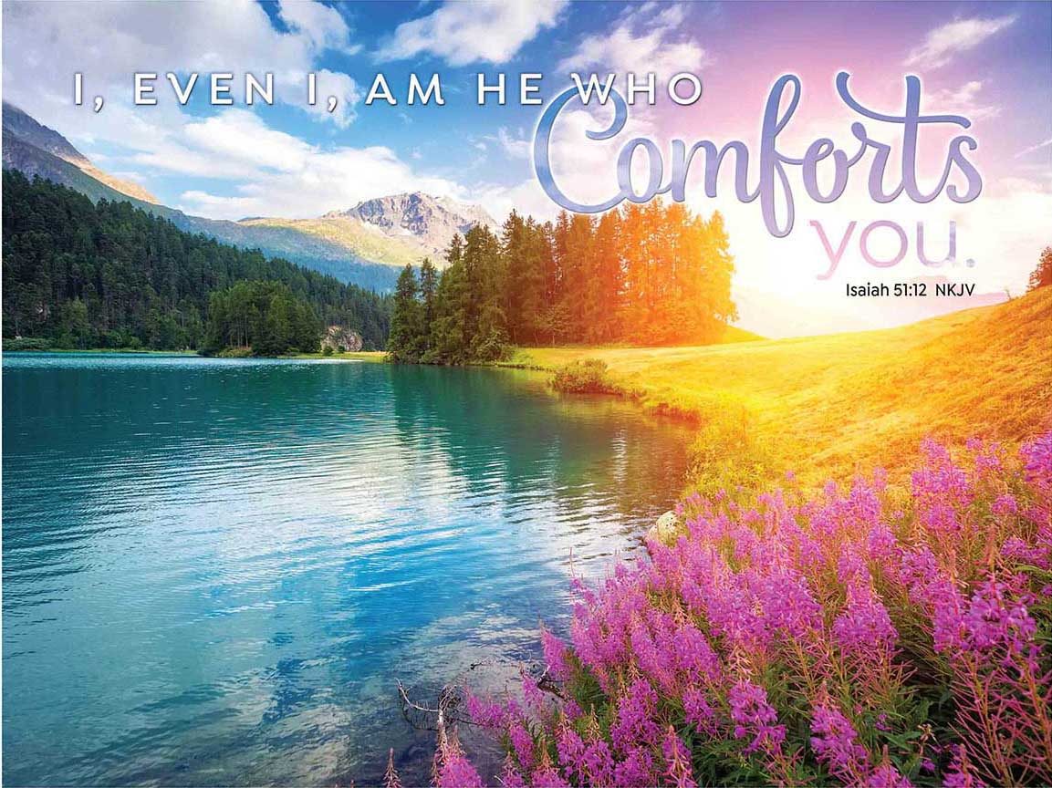 God's Comfort Religious Jigsaw Puzzle