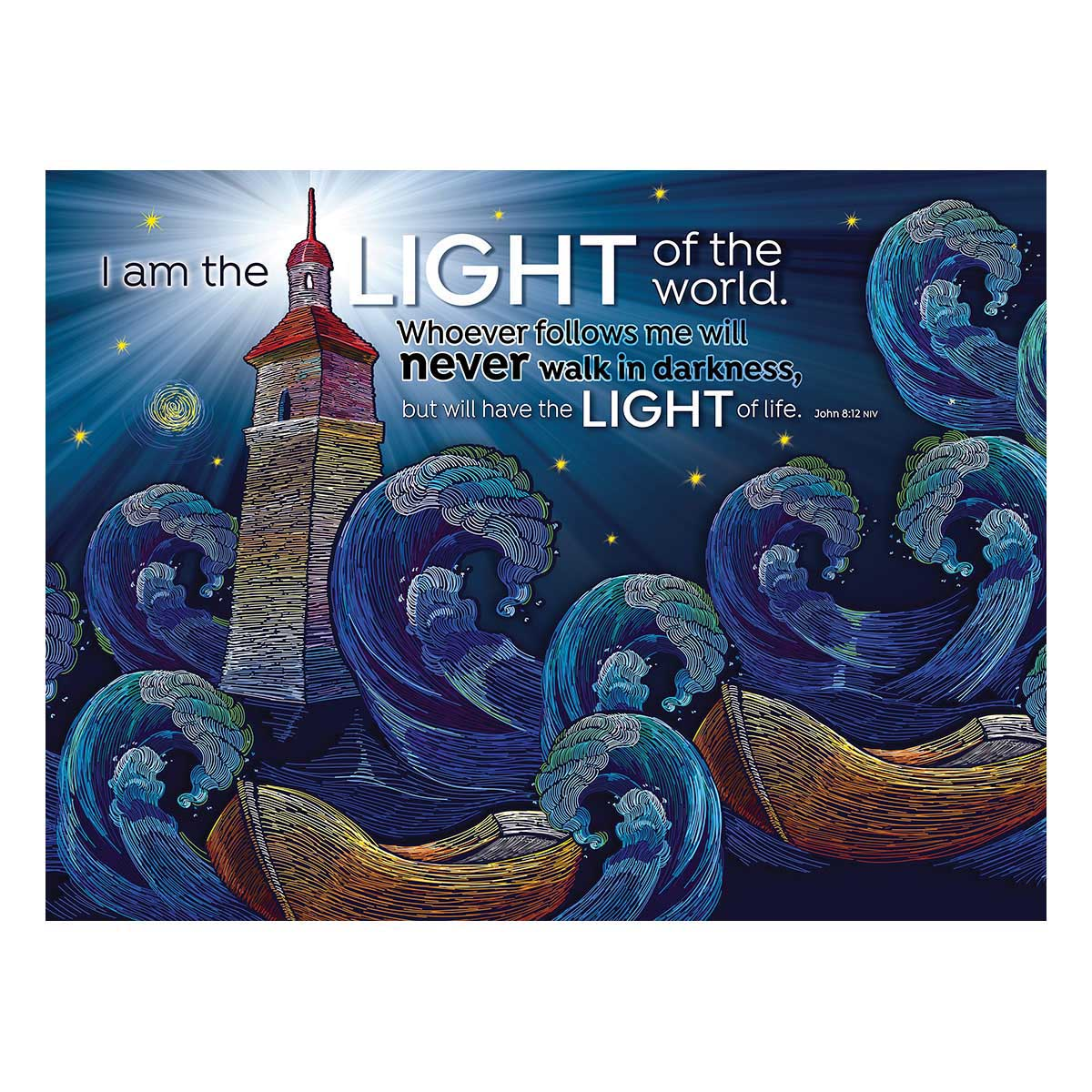 God's Light Religious Jigsaw Puzzle