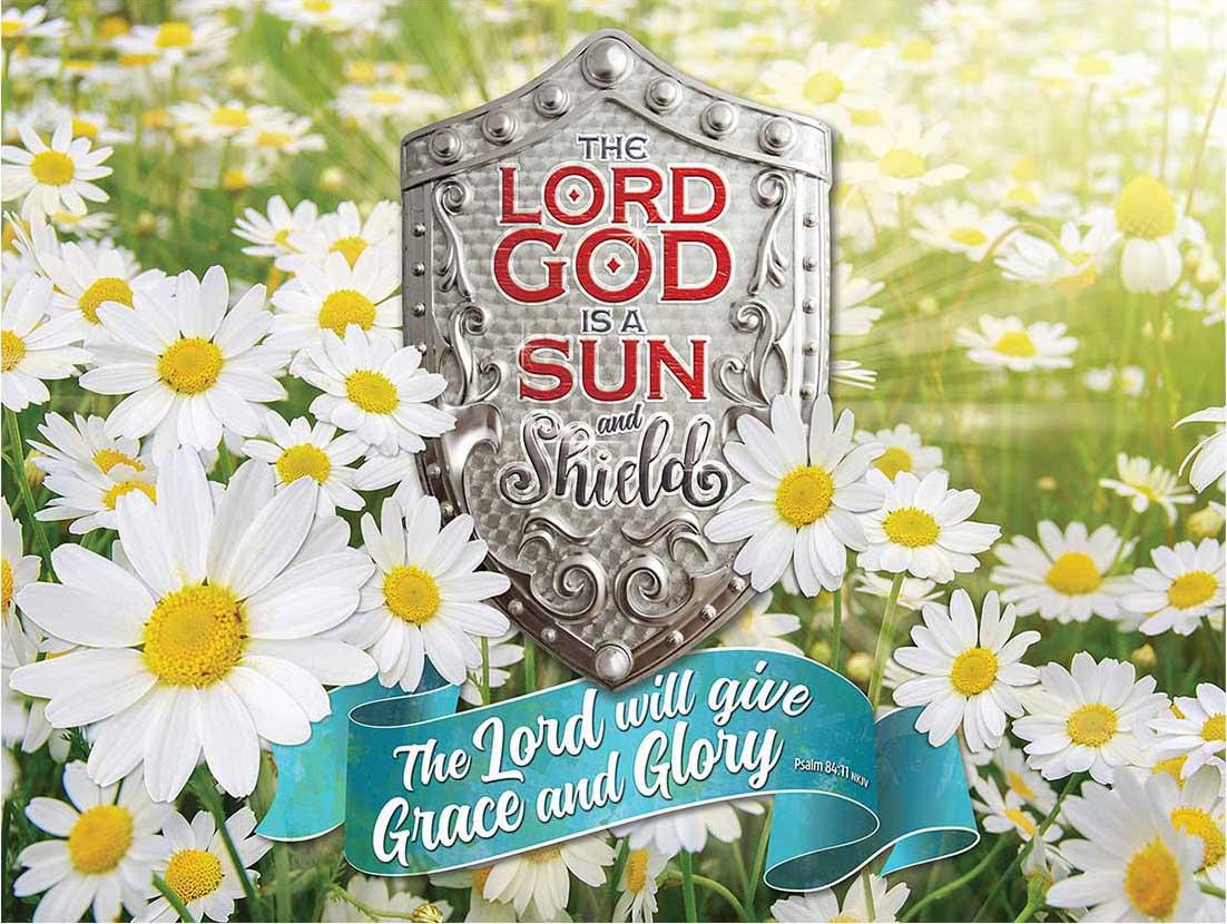 God's Grace Religious Jigsaw Puzzle