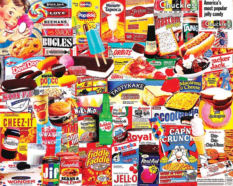 Things I Ate As A Kid - Scratch and Dent Everyday Objects Jigsaw Puzzle