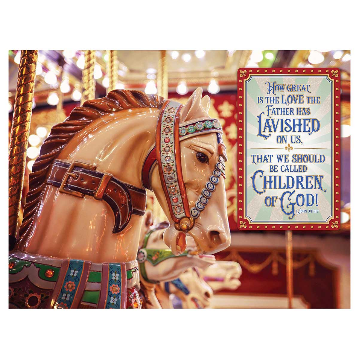 God's Children Religious Jigsaw Puzzle