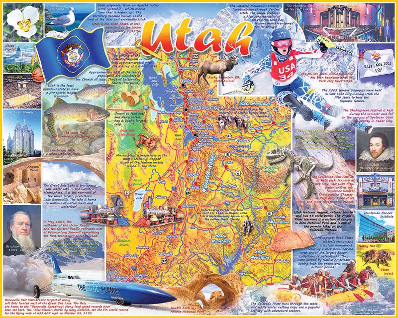 Utah Jigsaw Puzzle Puzzlewarehouse Com
