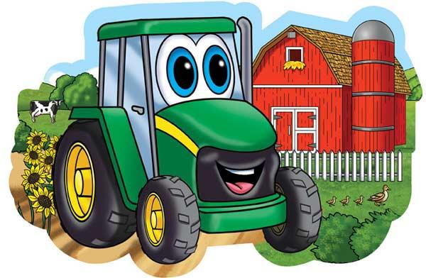 Floor Puzzle - John Deere On the Farm Farm Children's Puzzles