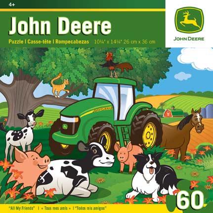John Deere - All My Friends Cartoons Children's Puzzles
