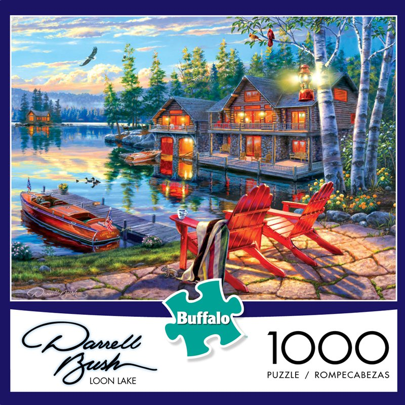 Loon Lake Boats Jigsaw Puzzle