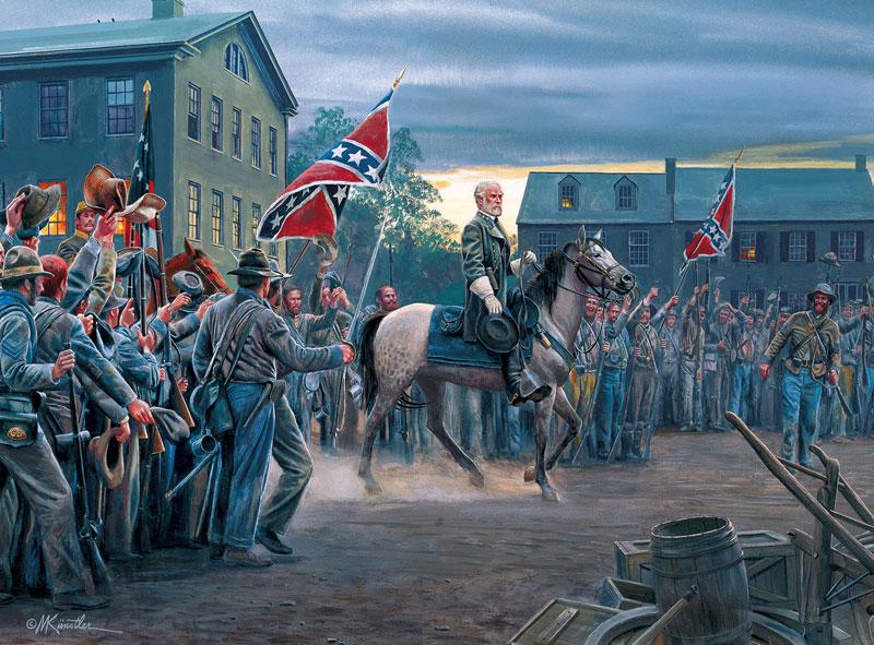 Twilight in Gettysburg History Jigsaw Puzzle
