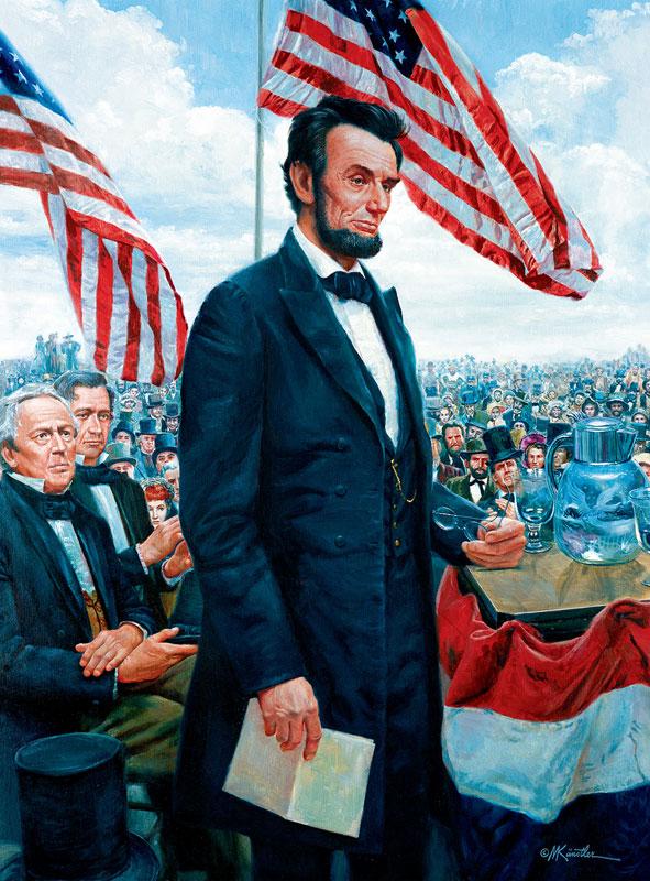 Gettysburg Address History Jigsaw Puzzle