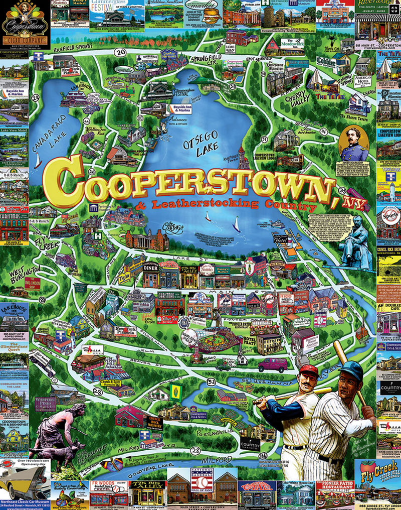 Cooperstown Ny Jigsaw Puzzle Puzzlewarehouse Com