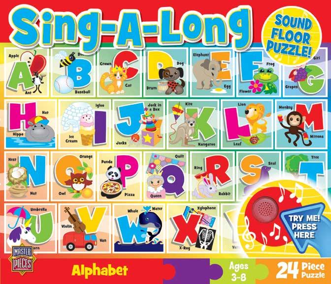 Sound Floor Puzzle - Alphabet Song Educational Jigsaw Puzzle