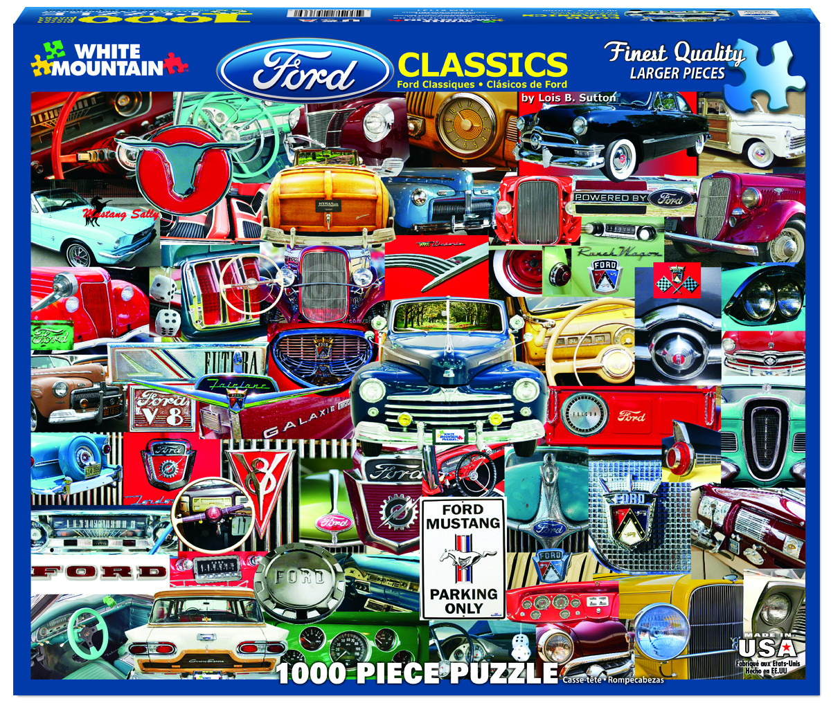 Ford Classics - Scratch and Dent Cars Jigsaw Puzzle