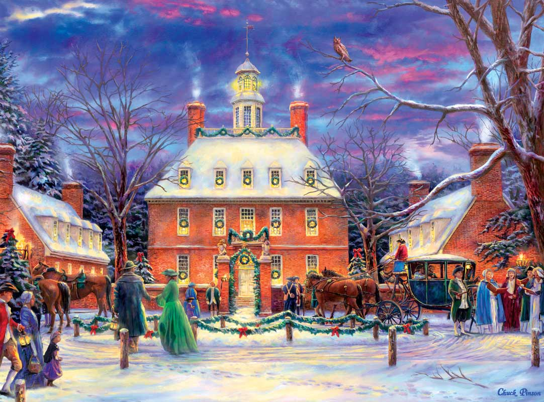 Governor's Party Winter Jigsaw Puzzle