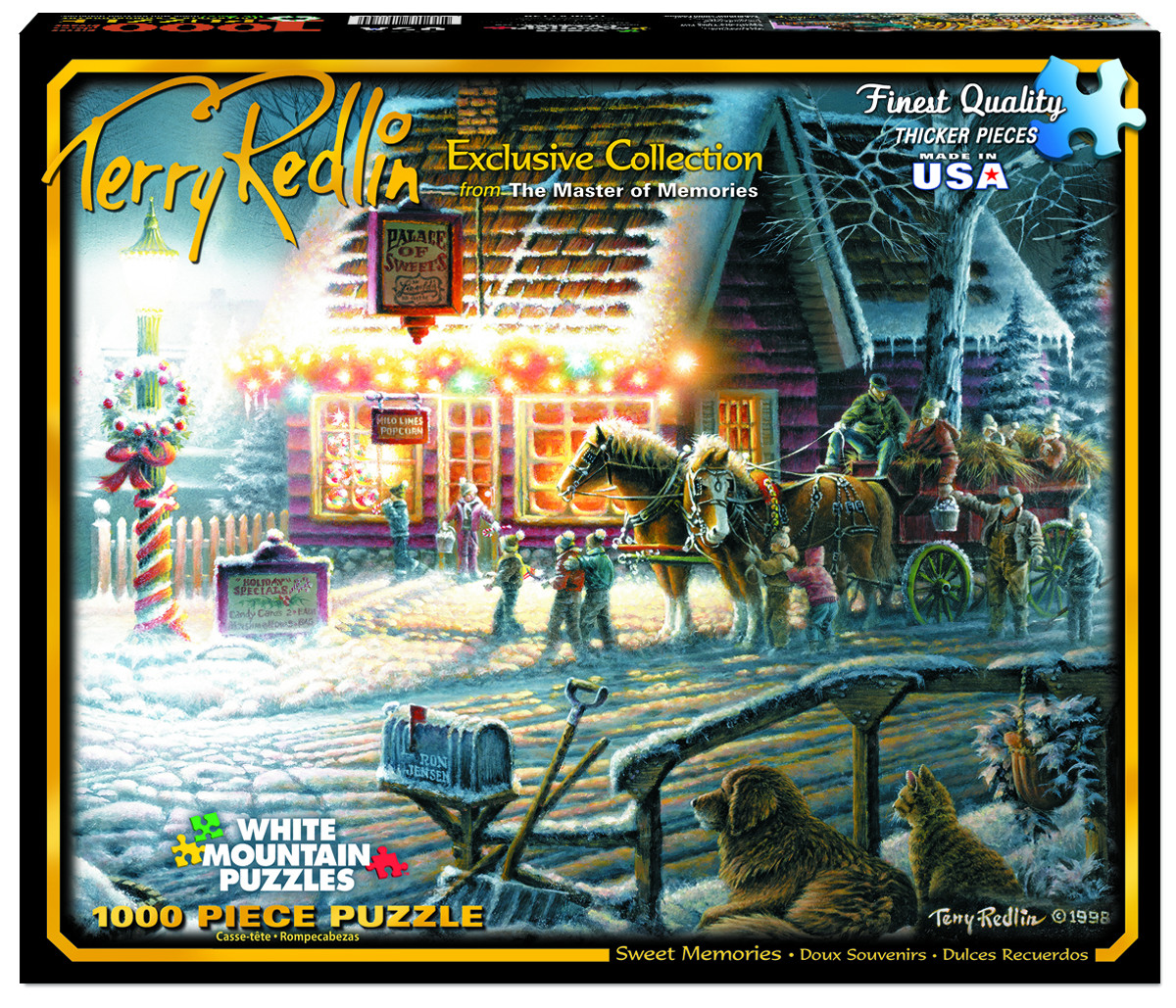 Sweet Memories (Terry Redlin Collection) Inspirational Jigsaw Puzzle