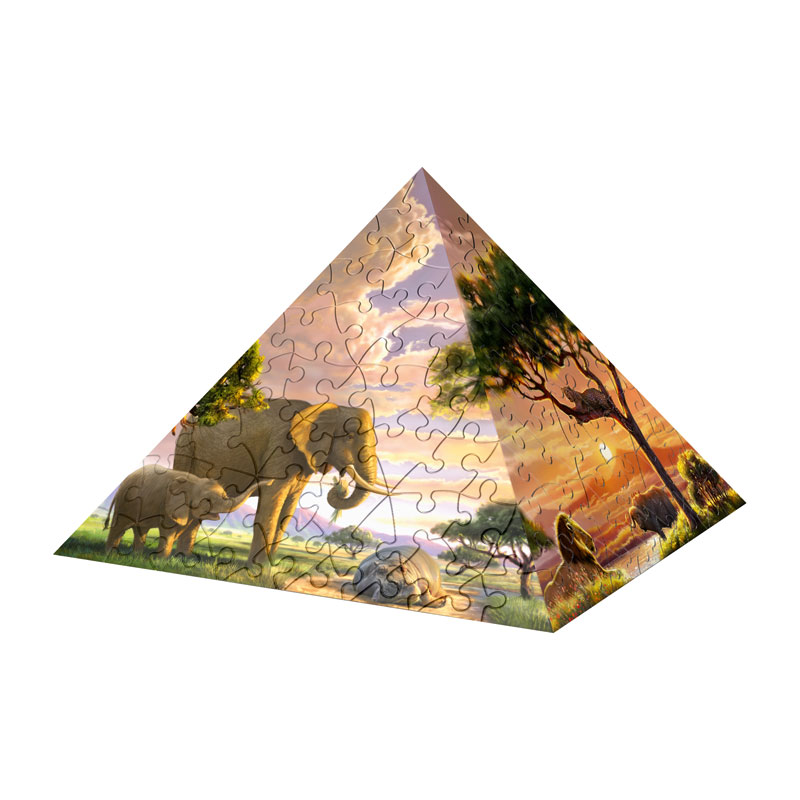 Puzzle Pyramid - Impressions of Africa Egypt 3D Puzzle