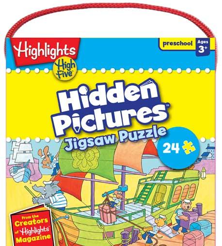 High Five - Hidden Pictures Boats Hidden Images