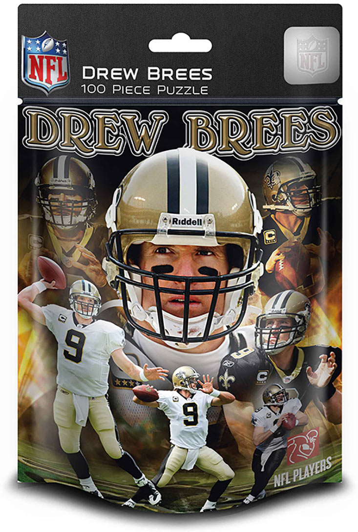 New OrleansDrew Brees (Saints)  (NFL  Foil Pack) Sports Jigsaw Puzzle