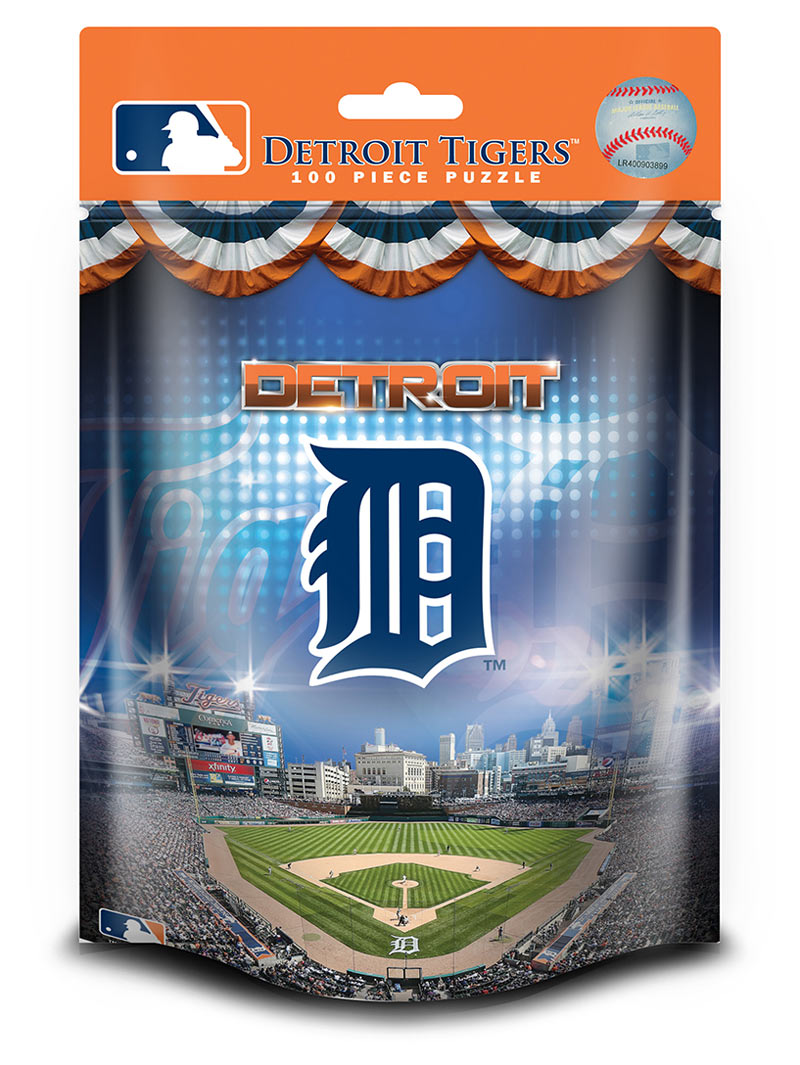 Detroit Tigers Mlb Foil Pack Jigsaw Puzzle