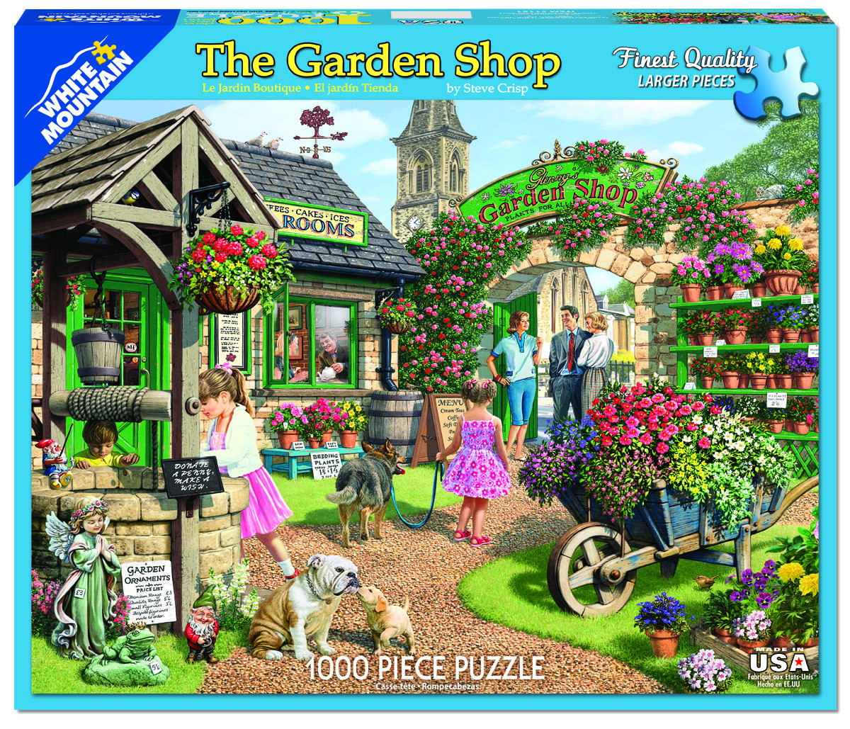 The Garden Shop Flowers Jigsaw Puzzle