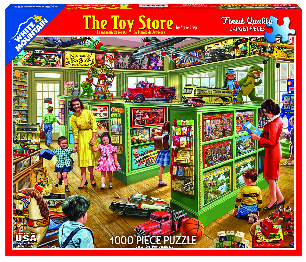 The Toy Store Everyday Objects Jigsaw Puzzle