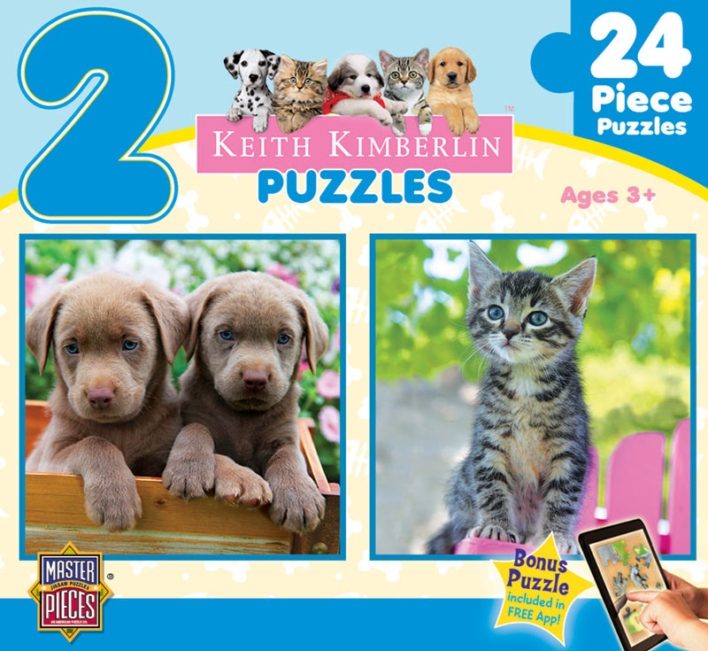 Perfect Pals Baby Animals Children's Puzzles