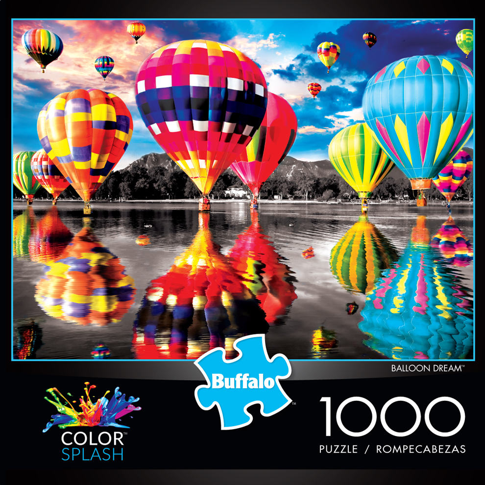 Balloon Dream - Scratch and Dent Balloons Jigsaw Puzzle