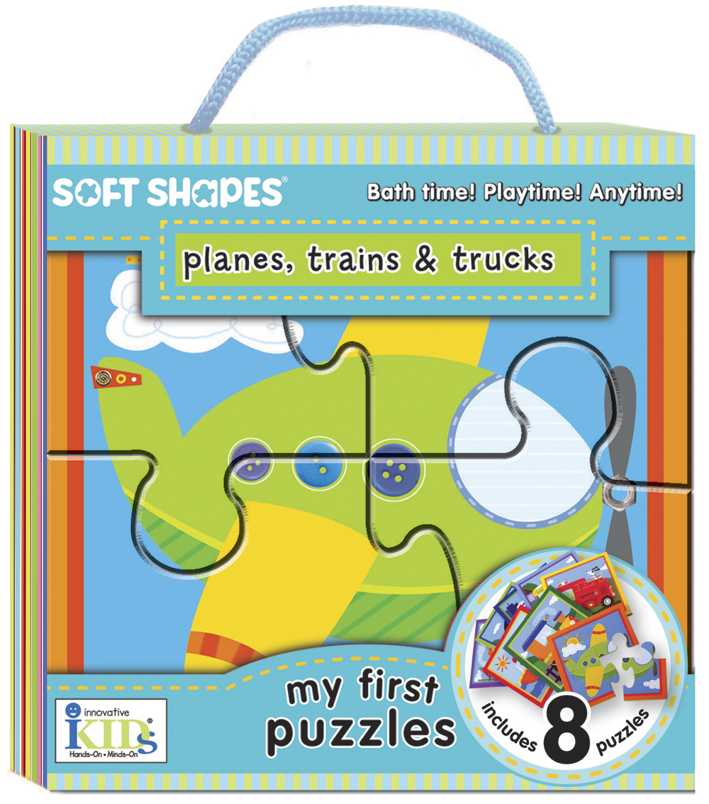 Planes, Trains & Trucks Vehicles Jigsaw Puzzle