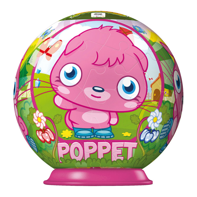 Moshi Monsters 54pc Puzzleball - Poppet Cartoons Jigsaw Puzzle