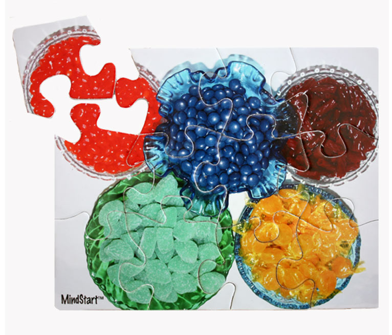 Candy (12pc) Sweets Jigsaw Puzzle