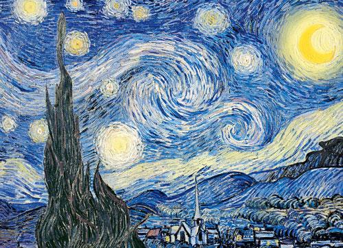 The Starry Night Impressionism Jigsaw Puzzle