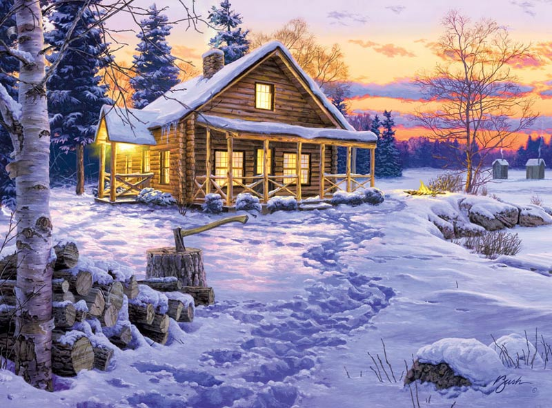 Winter Bliss Winter Jigsaw Puzzle