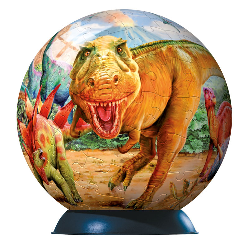 Puzzleball - Dinosaurs Dinosaurs Jigsaw Puzzle