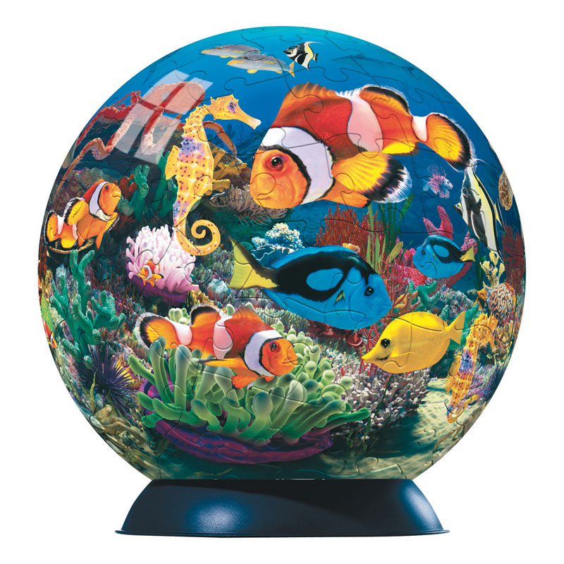Puzzleball - Ocean World of Colors Fish Children's Puzzles